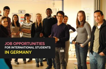 Job Opportunities for International Students in Germany