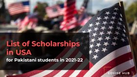 List of Scholarships in USA for Pakistani students in 2021-22